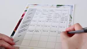 Vegetable Garden Planting Calendar by Create A Planting Calendar How To Make An Easy Garden Schedule