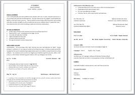 how to write a good cv personal profile making resume for example