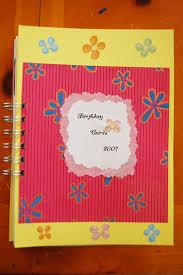 Book Birthday Card Bind It All Birthday Card Book