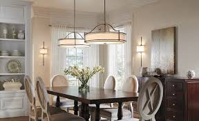 Hanging Light Fixtures For Dining Rooms Dining Room Lighting Gallery From Kichler