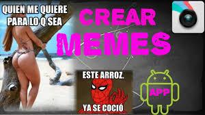 Memes App Android - la mejor app para crear memes android 2015 2016 youtube