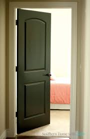 black interior door designs