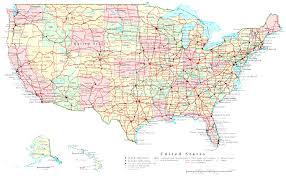 map us route 1 interstate highway map of united states america creatop me