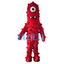 buy wholesale yo gabba gabba mascot costumes china yo