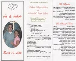 wedding invitation program wedding program program paper had embossed silver border and
