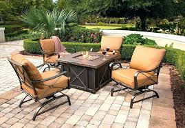 patio furniture with fire pit table lowes outdoor furniture sets furniture with gas fire pit table patio