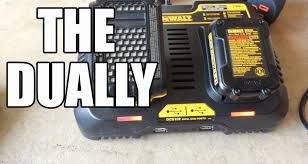 dewalt dcb102 12v 20v jobsite charging station youtube