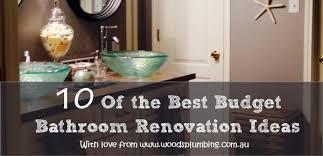 cheap bathroom renovation ideas 10 of the best budget bathroom renovation woods plumbing