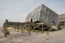 house plans on stilts house on stilts slides during sandy fema gov