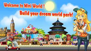 Mini World Theme Park Free Apk Download Mini World Theme