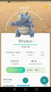 where can i catch a rhydon in pokémon go pokémon go
