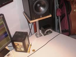 studio monitor stand desk mount solution gearslutz pro audio