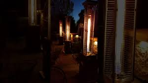 Fire Sense Pyramid Patio Heater by Fire Sense Patio Heaters We Converted These To Natural Gas Youtube