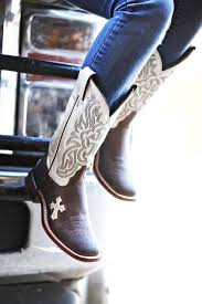 ariat womens cowboy boots size 12 tony lama tuscan goat with bone inlay cross 12 top