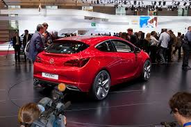 opel paris opel u0027s gtc paris concept live photos and new video trailer