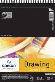 buy canson c u0027a grain drawing paper pads at hyatt u0027s