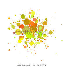 color paint splashes background vector stock vector 34759756