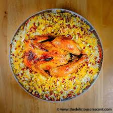 zereshk polo barberry rice with saffron chicken the delicious