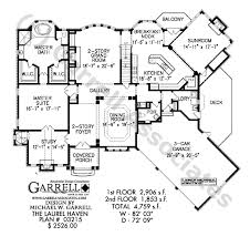 Dining Room In French Laurel Haven House Plan Dual Master House Plans