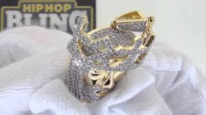 jesus hip hop necklace images Gold mini jesus pendant 3d crown jesus hip hop chain jpg