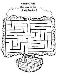 going on a bear hunt coloring pages free printable mazes for kids all kids network