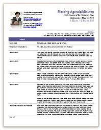 meeting minutes templates llc meeting minutes template