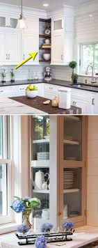 open shelf corner kitchen cabinet fabulous hacks to utilize the space of corner kitchen cabinets