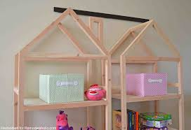 Free A Frame House Plans by Remodelaholic Diy House Frame Bookshelf Plans