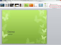 new themes for powerpoint 2007 replacing background graphics of a