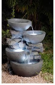 backyard water fountains attractive inspiration 17 patio fountain