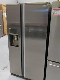 Samsung Cabinet Depth Refrigerator 36 Samsung Counter Depth 22 Cu Ft Side By Side Refrigerator Real Sta