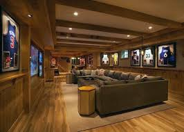 Media Room Sofa Sectionals - 60 basement man cave design ideas for men manly home interiors