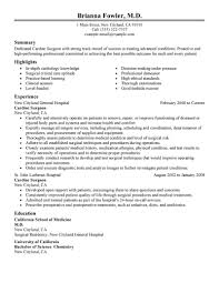 resume sample for doctors best surgeon resume example livecareer create my resume