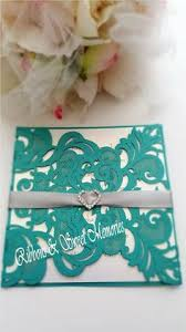 customized ribbon this laser cut invitation is a fold style which covers the