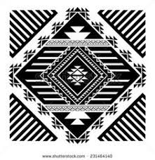 aztec tribal ethnic elements art to zentangle pinterest
