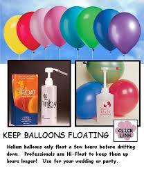 balloons that float hi float for balloons