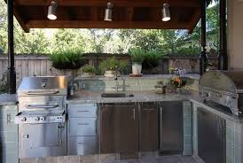 kitchen ideas with stainless steel appliances new york outdoor kitchen ideas patio traditional with two tone
