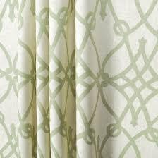 Custom Trellis Panels Handmade 96l X 50w Braemore Fioretto Sprout Green Linen Scroll