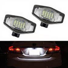 Honda Accord Lights Direct Fit Acura Tsx Tl Honda Accord Civic Led License Plate Lights
