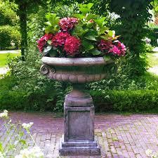 Stone Urn Planter by Stone Garden Planter Outdoor Urns Planters Pinterest Garden