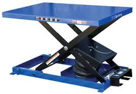 Pallet Lift Table by Vestil Heavy Duty Air Bag Scissor Lift Tables
