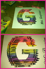 best 25 crayon letter ideas on pinterest crayon crafts crayon