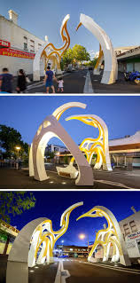 mcbride charles have designed saigon welcome arch in