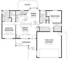 house plans with garage in basement flip there basement stair and the door from the garage to get it