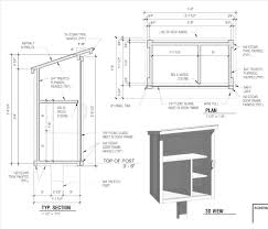 free building plans resources free pantry