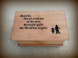 personalized wooden gifts personalized wooden jewelry box with your s