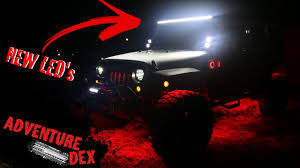 best jeep light bar the best jeep led light bars installation review youtube