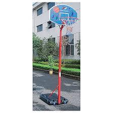 panier de basket bureau panneaux indoor panier de basket 2m60 multicolore pro touch