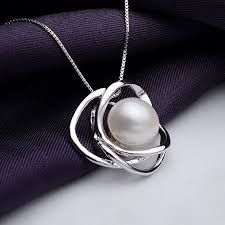 pearl pendant necklace silver images 39 best pearl pendant images sterling silver chains jpg