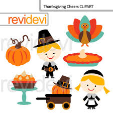 thanksgiving clip bundle thanksgiving day blessing clipart